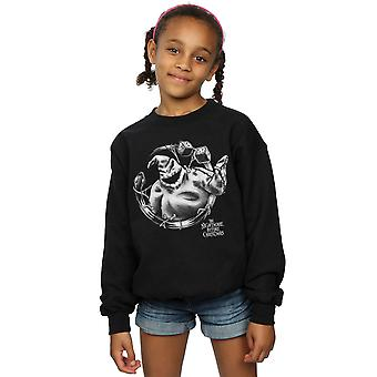 Disney Girls Nightmare Before Christmas Ooogie Boogie Mono Sweatshirt