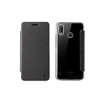 Huawei P20 Folio Black Case - Muvit