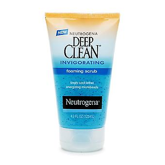 Neutrogena deep clean invigorating foaming scrub, 4.2 oz
