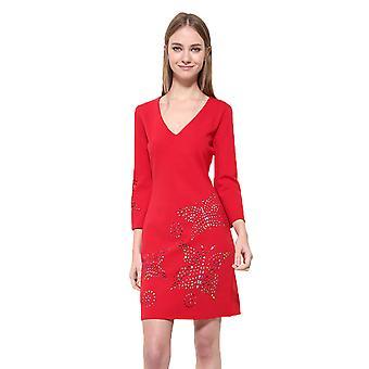 Desigual Women's V-Neck Dominique Dress