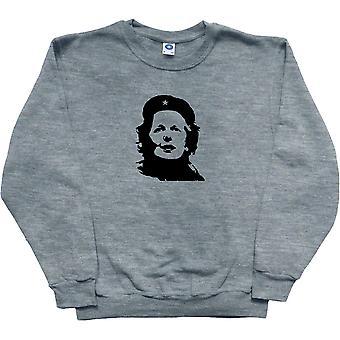 Margaret Thatcher Che Guevara Revolutionary Ash Sweatshirt
