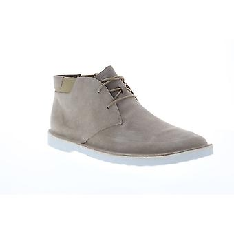 Camper Morrys  Mens Gray Suede Lace Up Chukkas Boots
