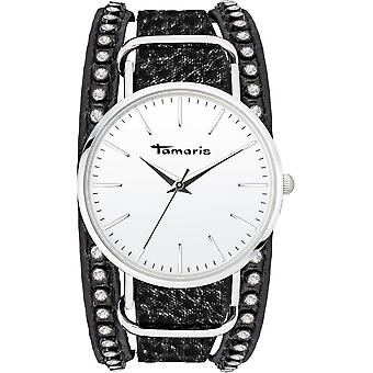 Tamaris - Wristwatch - Women - TW108 - silver, black