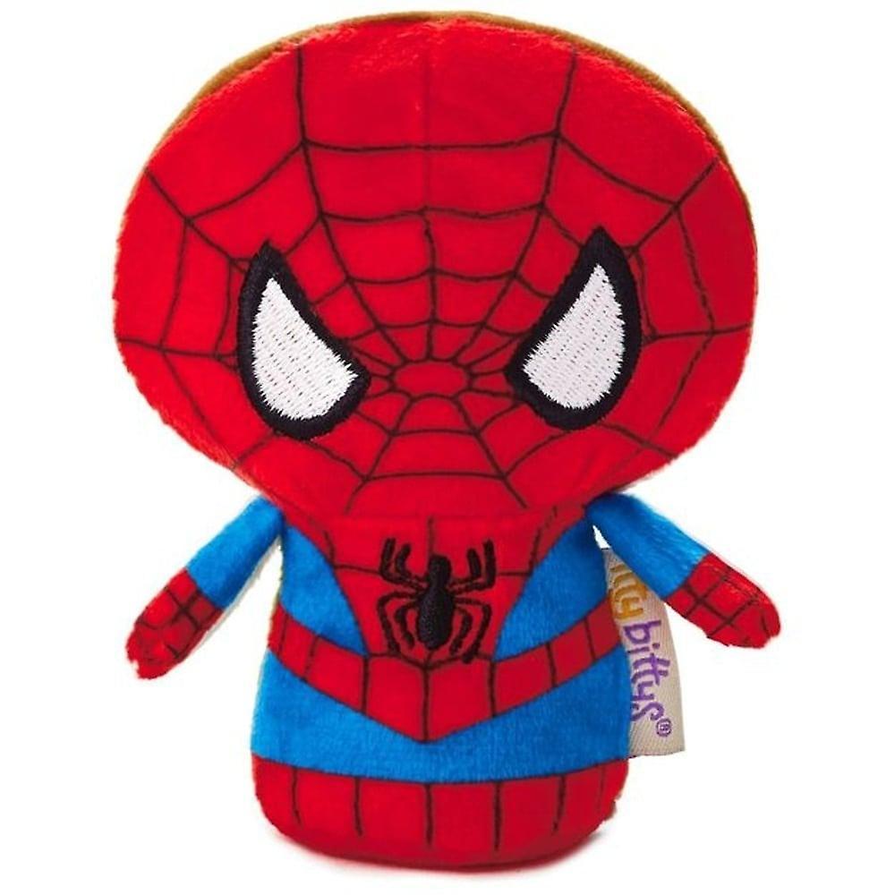 Hallmark Itty Bittys Marvel Superhero Spiderman Peter Parker (reversible)