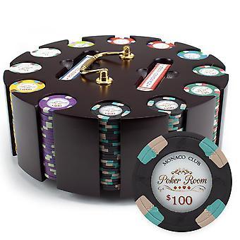 300ct Claysmith Gaming Monaco Club chip set în carusel