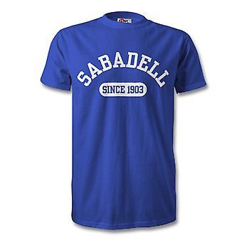 Sabadell 1903 gegründet Fußball Kinder T-Shirt