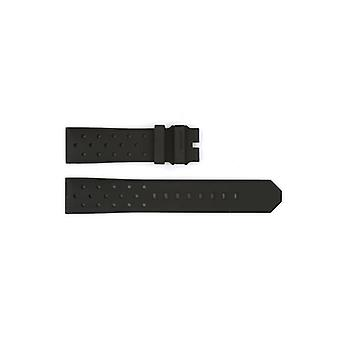 Authentic tag heuer watch strap rubber 21mm ft8024