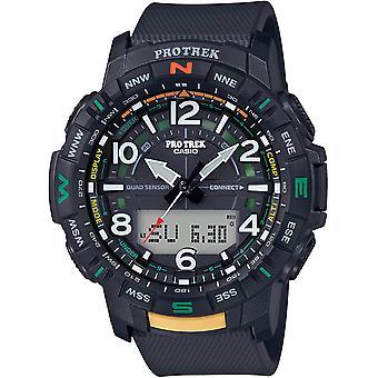Casio Pro Trek Bluetooth Kompass Altimeter Barometer Herren Uhr PRTB50-1CR