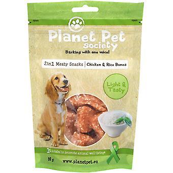 Planet Pet Snack Huesitos de Pollo y Arroz (Dogs , Treats , Chewy and Softer Treats)