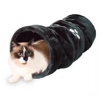 トリクシー トンネル、テディは、Ø 22 X 60 cm、ベージュ (猫、おもちゃ、トンネル) を演奏