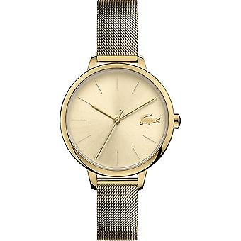 Lacoste 2001128 Women's Cannes Gold Tone Wristwatch