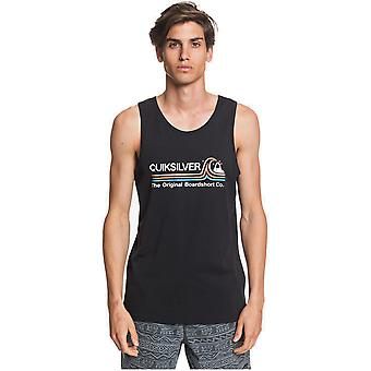 Quiksilver Stone Cold Classic Sleeveless T-Shirt in Black