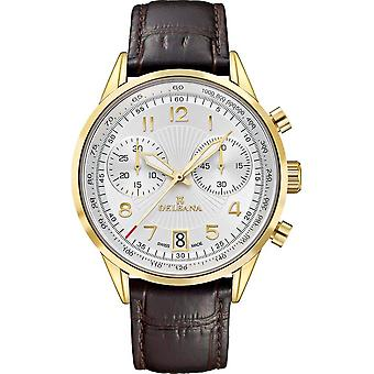 Delbana - Wristwatch - Men - Retro Chronograph - 42601.672.6.064