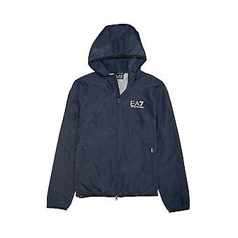 EA7 Junior EA7 Junior Navy Hooded Jacket