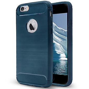 Shell Apple iPhone 6 Plus/6s Plus Navy Carbon Rüstung Fall Schutz