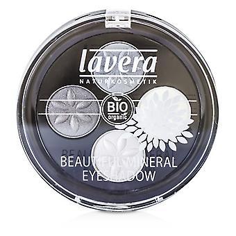 Lavera 美しいミネラル アイシャドウ クワトロ - # 01 スモーキー グレー 4x0.8/0.026oz