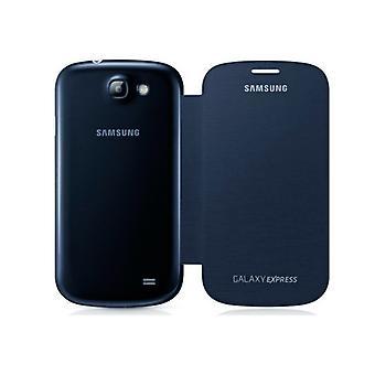Folio Mobile Phone Case Samsung Galaxy Express I8730 Blue
