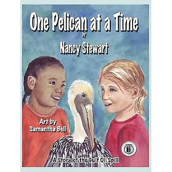 One Pelican at a Time A Story of the Gulf Oil Spill by Stewart & Nancy