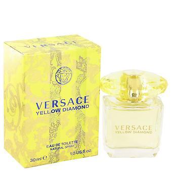 Versace gele diamant eau de toilette spray door versace 502621 30 ml