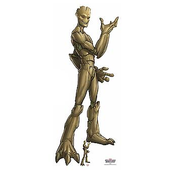 Groot Guardians of the Galaxy Officiële Marvel Kartonnen Cutout / Standee