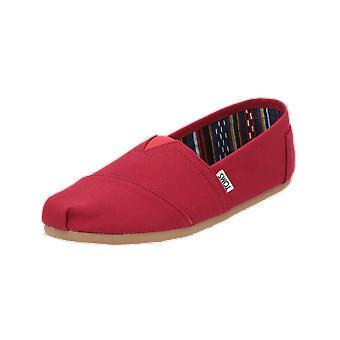 TOMS Alpargata Men's Loafer Red Slip-Ons Business Shoes