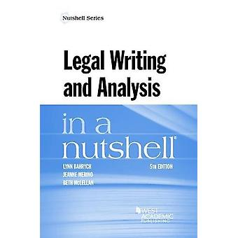 Legal Writing and Analysis in a Nutshell by Lynn Bahrych - 9781634602