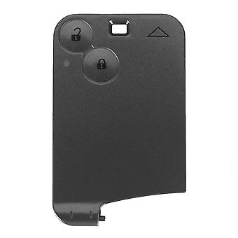 2 button smart card case car shell Renault