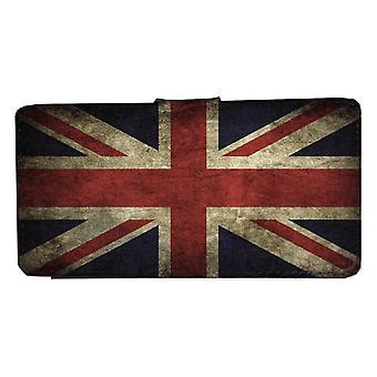 Samsung S8 rústico Reino Unido bandera cartera caso con la cáscara de la imagen