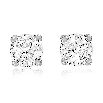 Tuscany Silver Earrings for Women's Stud in Silver Sterling 925 - with Cubic Zirconia
