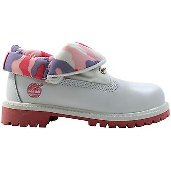 timberland Roll Top White/Pink-Grey 29704 Pre-School