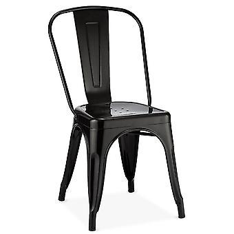 Ibbe Design Korona Matstol Svart - Set om 4, 43x51x85 cm
