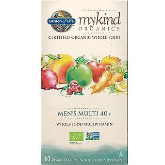 Jardín de la Vida MiKind Orgánicos Hombres 40+ Multi Caps 60 1224
