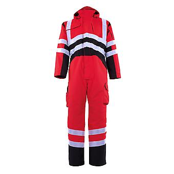 Mascot safara hi-vis winter boilersuit 11019-025 - safe young, mens