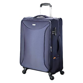 JUMP Toledo Evolution Soft Trolley M, 4 wheels, 68 cm, 70 L, Blue