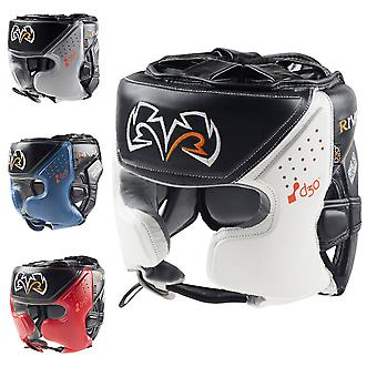 RIVAL Boxing RHG10 Intelli-Shock Training Headgear - XL - Black/White