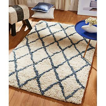 Cassie 03 Sapphire  Rectangle Rugs Plain/Nearly Plain Rugs