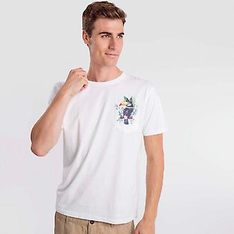 T-shirt bianca Toucan