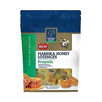 Manuka Health MGO 400+ Manuka Honey Drops with Propolis 250g (MAN058)