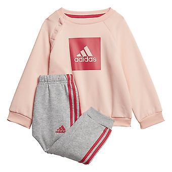 Adidas Infant 3-stripes Fleece Jogger Set