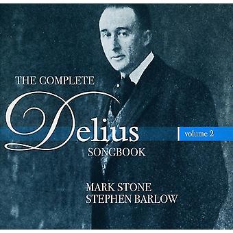 F. Delius - The Complete Delius Songbook, Vol. 2 [CD] USA import