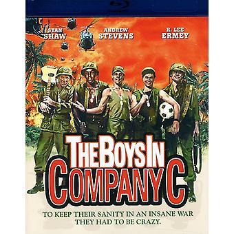 The Boys in Company C [Blu-ray] [BLU-RAY] USA import