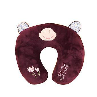 YANGFAN Creative Cartoon Pp Cotton U -Shaped Pillow
