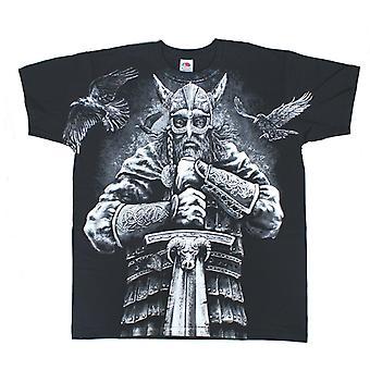 Aquila - viking warrior - men's t-shirt