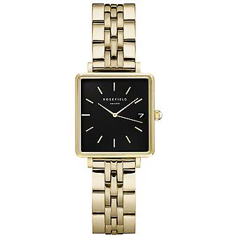 Rosefield the mini boxy Watch for Women Analog Quartz with Stainless Steel Bracelet QMBG-Q025