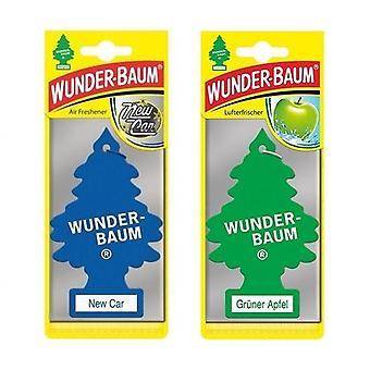 Wunder-Baum Perfumado (Novo Carro + Apple) 2-Pack
