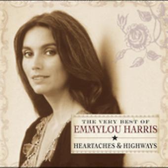 Emmylou Harris - mycket bästa av Emmylou Harris [CD] USA import