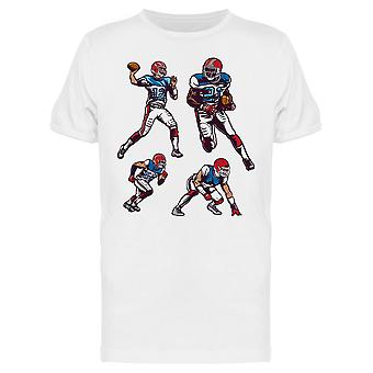 Football Players Graphic Tee Men's -Image by Shutterstock