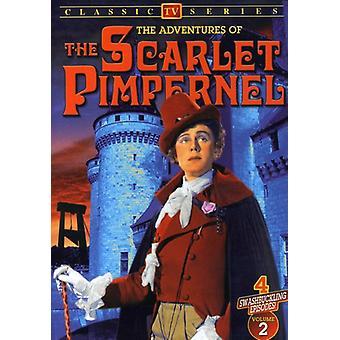 Abenteuer von Scarlet Pimpernel: Vol. 2 [DVD] USA Import