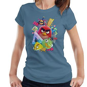 Angry Birds 3D Gang Women's T-Shirt