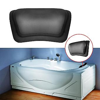 Home Bath Headrest Massage Pu Soft Waterproof Bathtub Pillow With Suction Cups